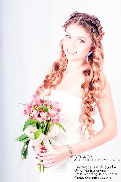 свадебные прически доска объявлений